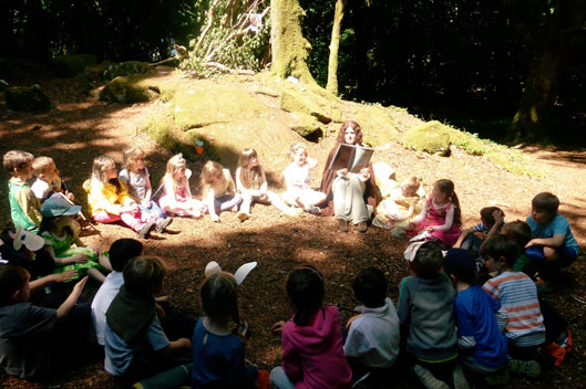 story time at lough grainey